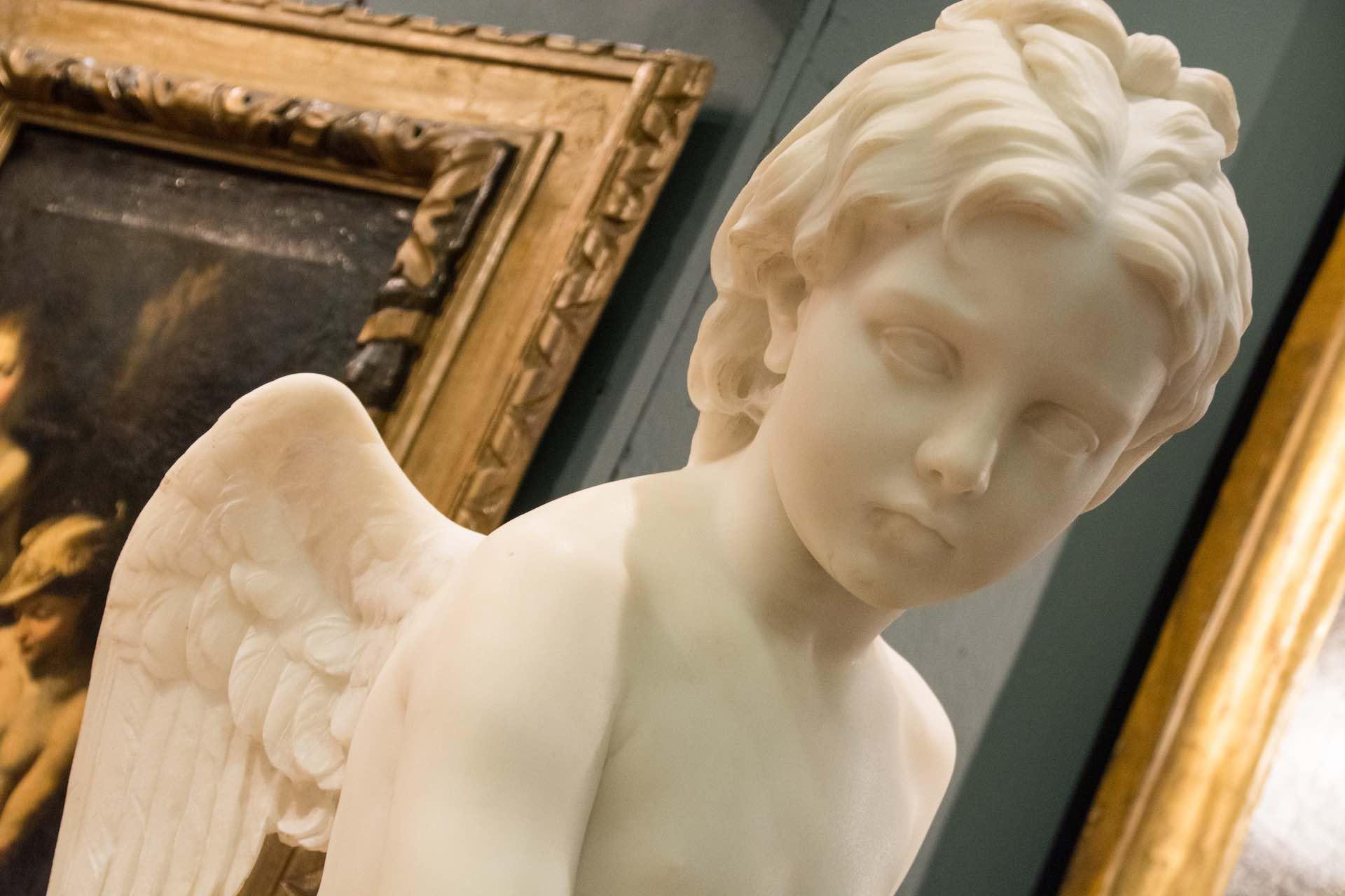 statue a Mercanteinfiera