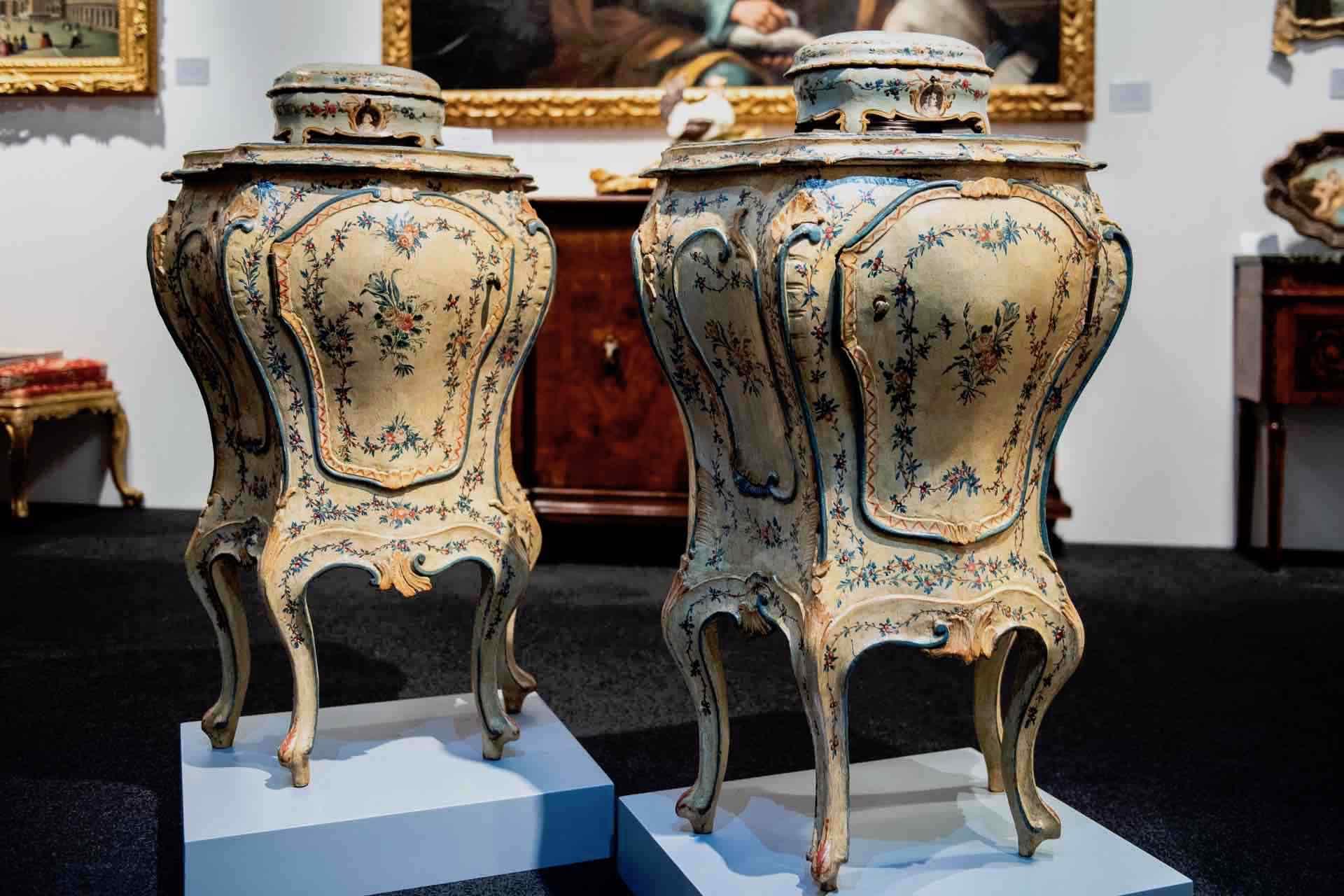 pezzi in mostra a Gotha