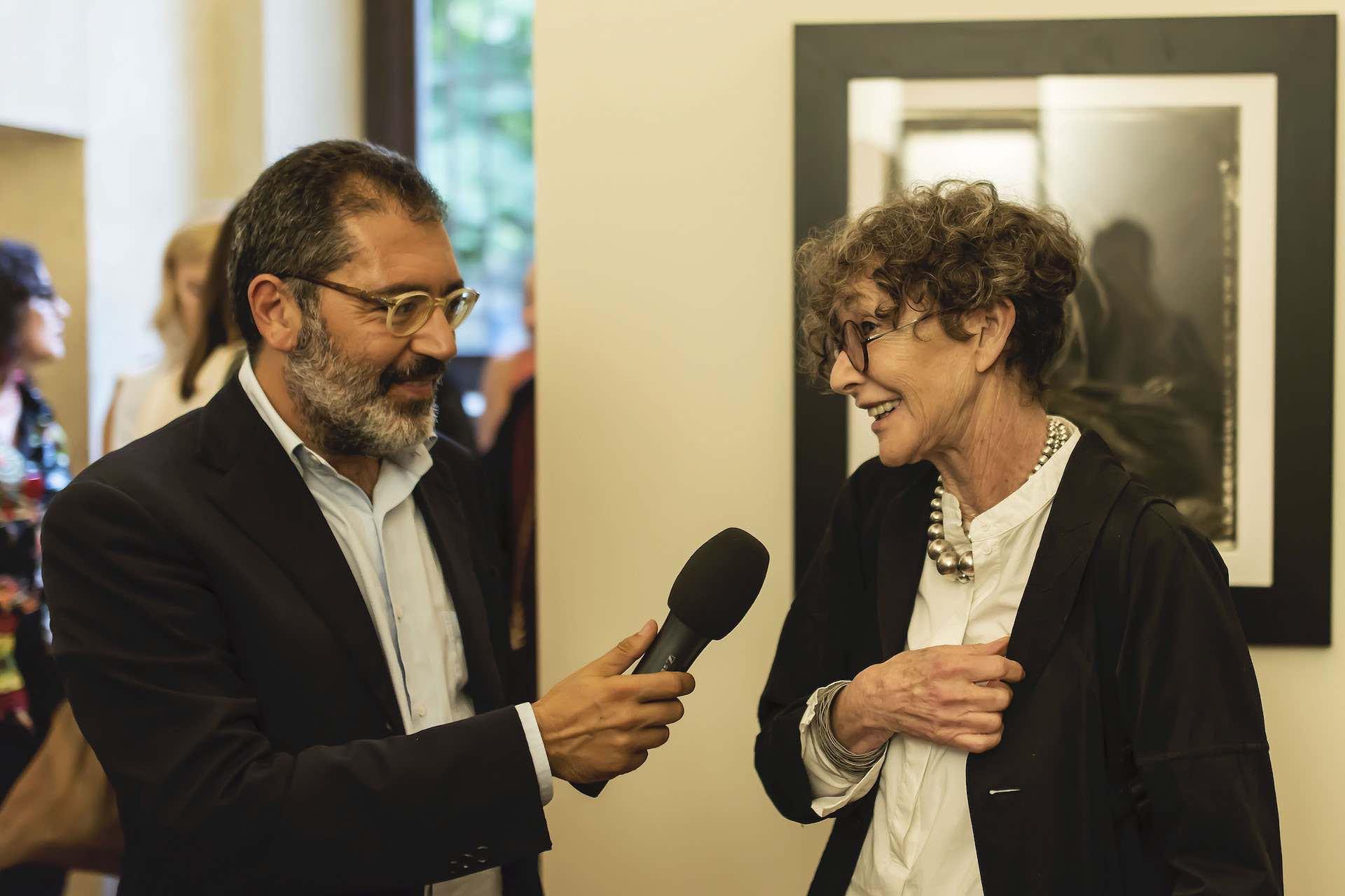 Sarah Moon intervistata da Luca Ponzi